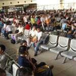 Wartehalle im Bahnhof